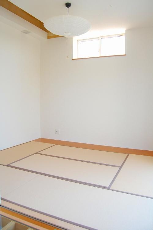LDKの隣には日本人なら誰でも好きな畳敷きの和室